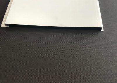 Flush panel soffit Fabrication