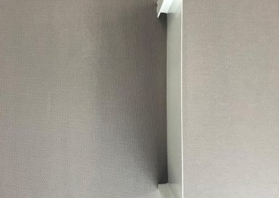 Flush panel soffit profile